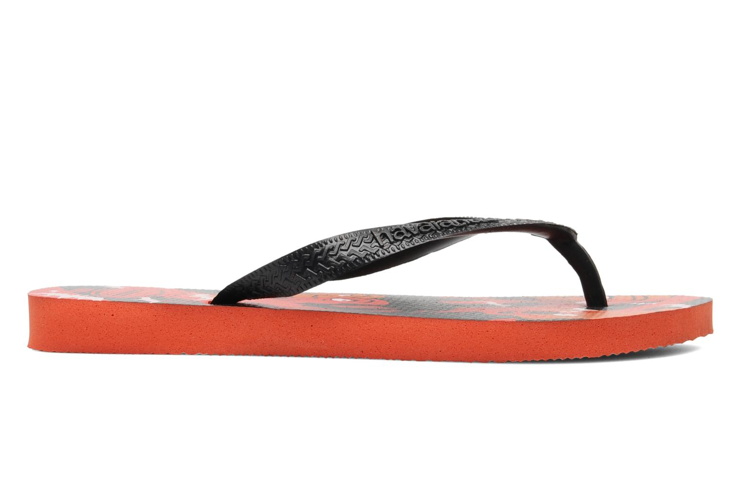Tongs Havaianas Kids Scoobydoo Orange vue derrière