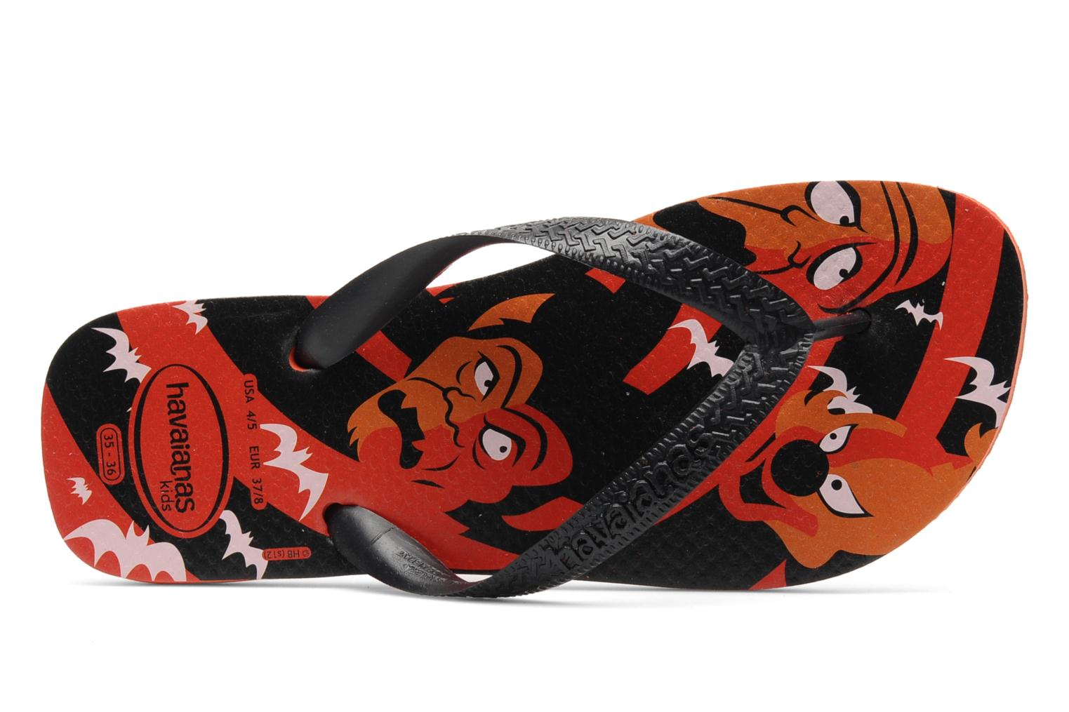 Zehensandalen Havaianas Kids Scoobydoo orange ansicht von links