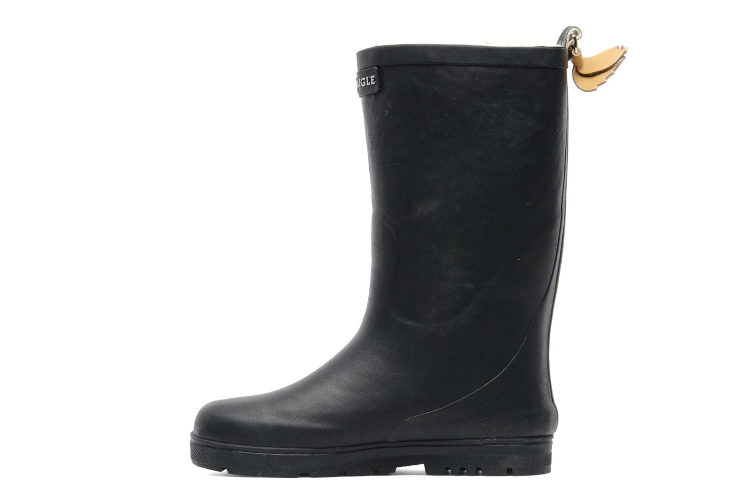 Boots & wellies Aigle Woody Pop Fur Blue front view