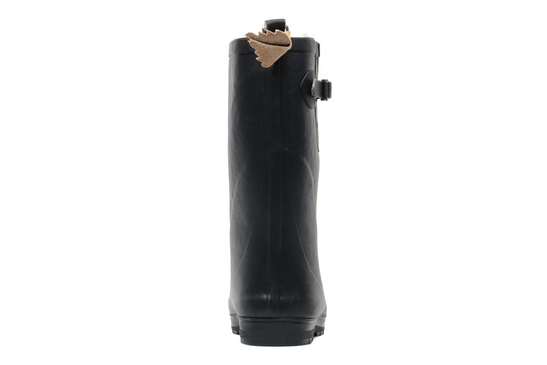 Stövlar & gummistövlar Aigle Woody Pop Fur Blå Bild från höger sidan