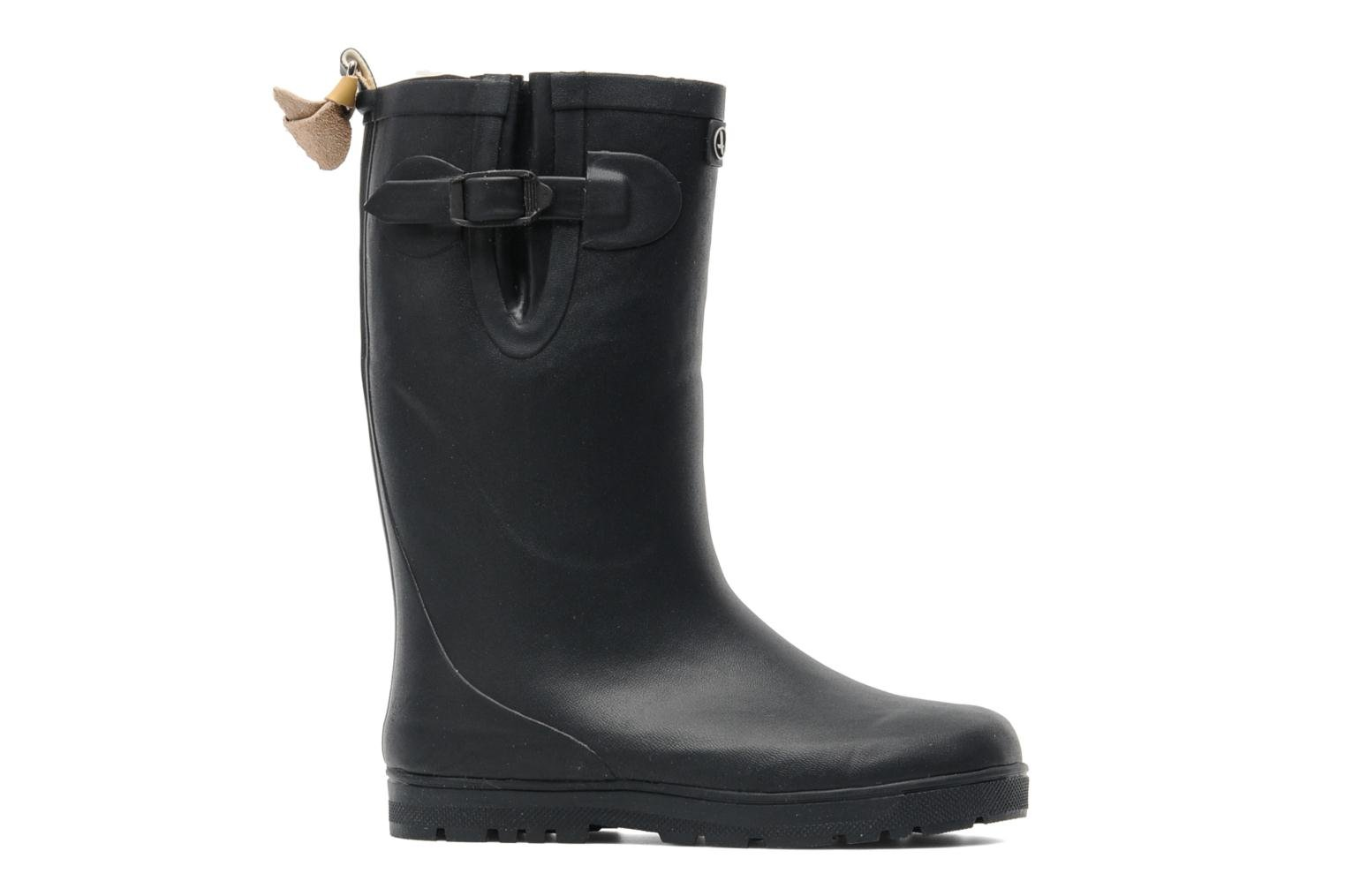 Boots & wellies Aigle Woody Pop Fur Blue back view