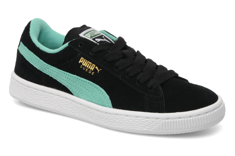 BK-WH Puma Suede Jr. (Noir)