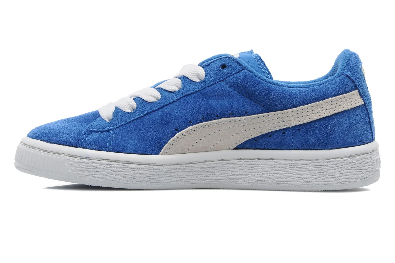 Sneakers Puma Suede Jr. Azzurro immagine frontale