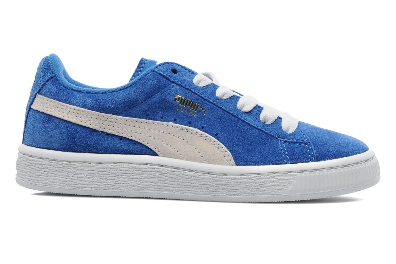 Sneakers Puma Suede Jr. Azzurro immagine posteriore