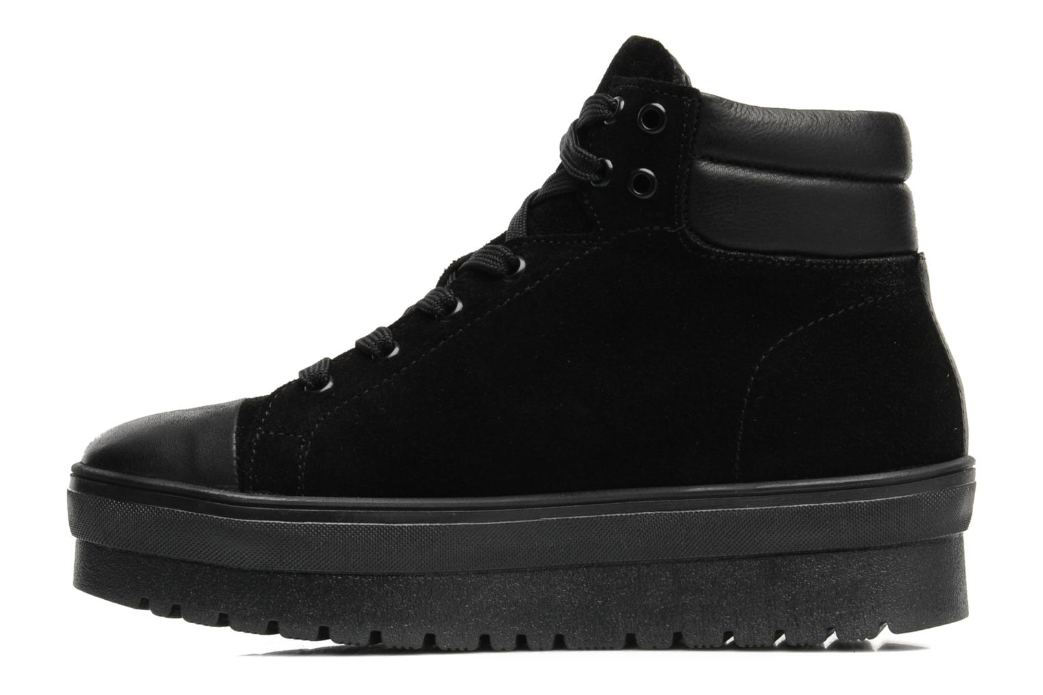 Trainers Pastelle Paty Black front view