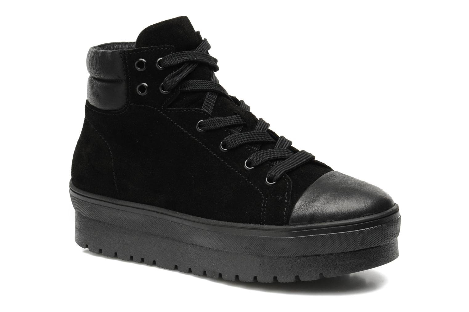 Trainers Pastelle Paty Black detailed view/ Pair view