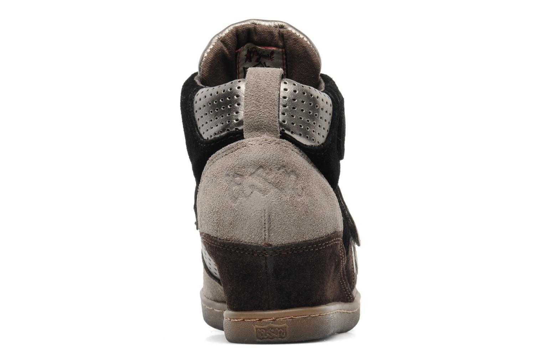 Sneakers Ash Boogie Bruin rechts