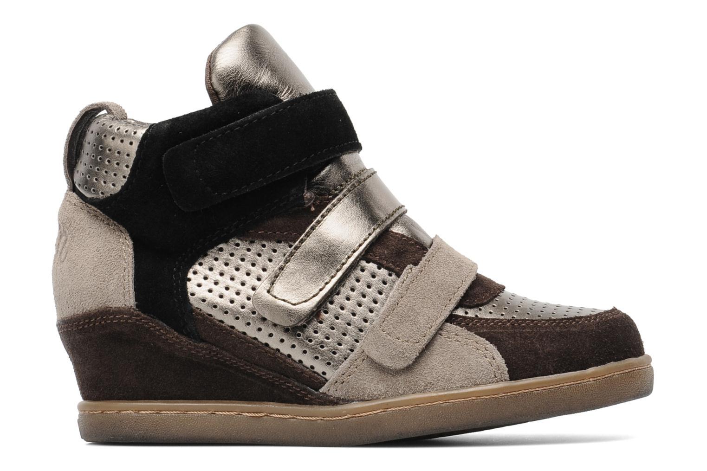 Sneakers Ash Boogie Bruin achterkant