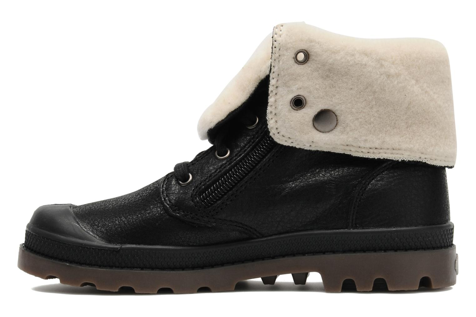 Bottines et boots Palladium Baggy Leather K Noir vue face