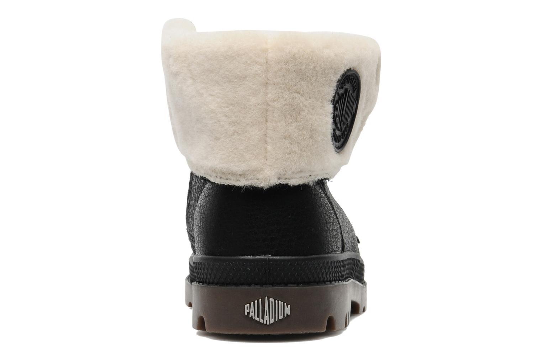 Bottines et boots Palladium Baggy Leather K Noir vue droite