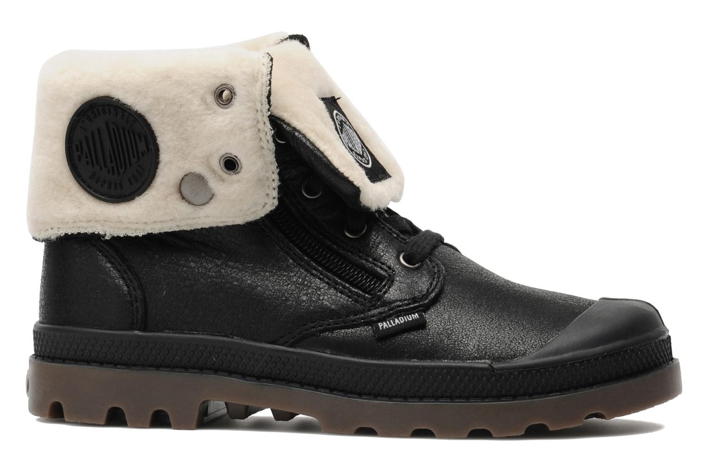 Bottines et boots Palladium Baggy Leather K Noir vue derrière