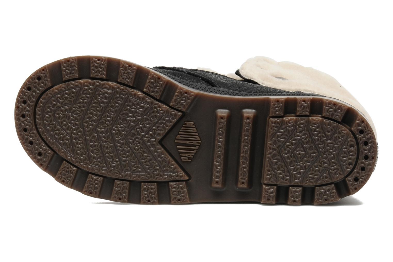 Bottines et boots Palladium Baggy Leather K Noir vue haut