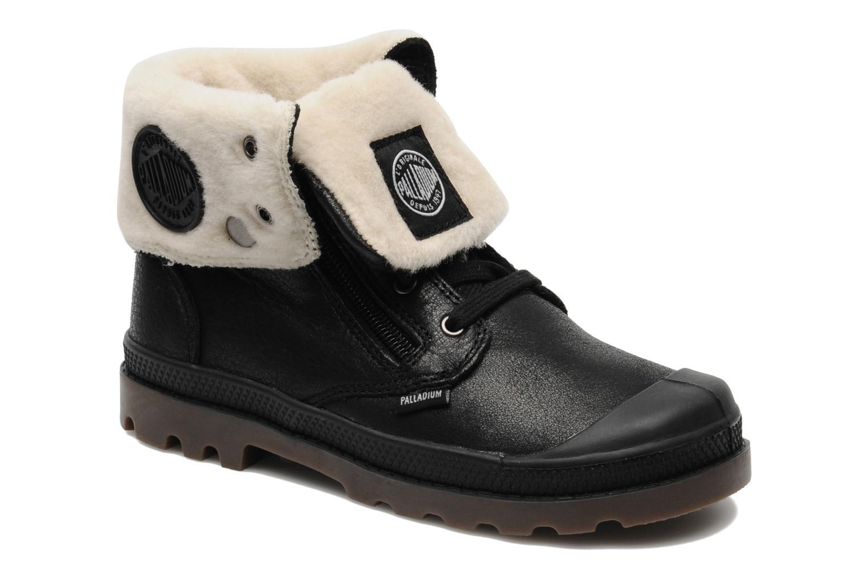 Bottines et boots Palladium Baggy Leather K Noir vue détail/paire