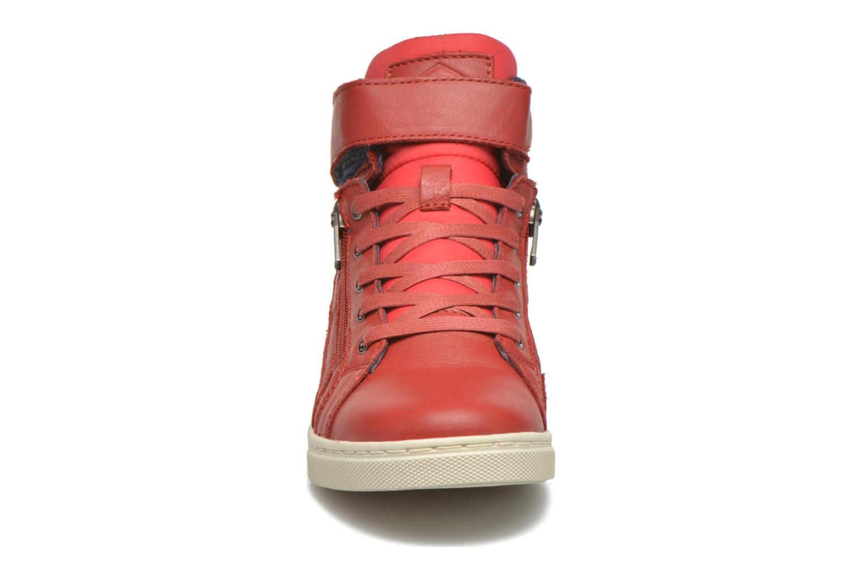 Sneakers P-L-D-M By Palladium Veleda TFL Rosso modello indossato