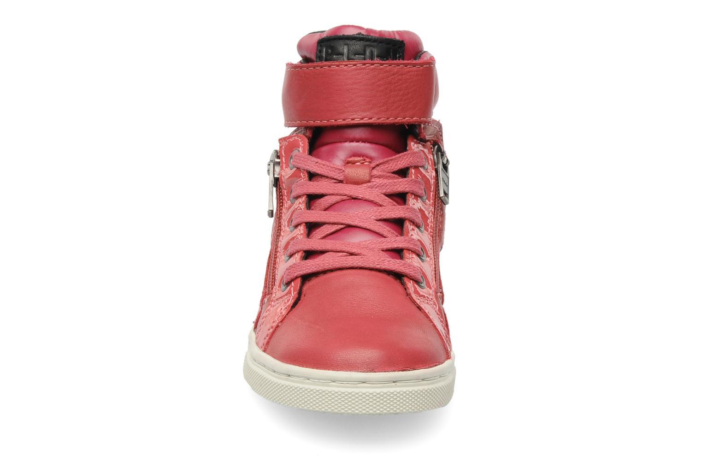 Baskets P-L-D-M By Palladium Veleda Verni Rose vue portées chaussures