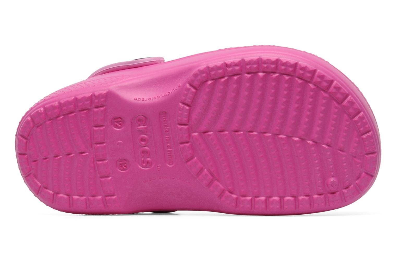 Sandalias Crocs Creative Crocs Hello Kitty Bow Lined Clog Rosa vista de arriba