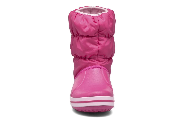 Boots en enkellaarsjes Crocs Winter Puff Boot Kids Roze model