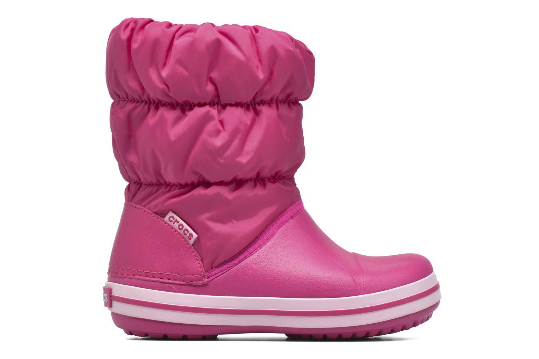 Boots en enkellaarsjes Crocs Winter Puff Boot Kids Roze achterkant