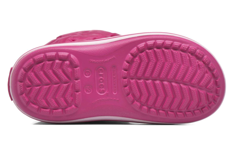 Boots en enkellaarsjes Crocs Winter Puff Boot Kids Roze links