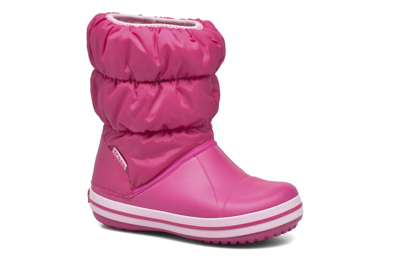 Boots en enkellaarsjes Crocs Winter Puff Boot Kids Roze detail