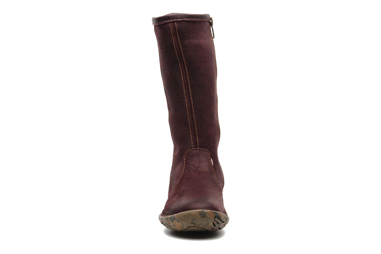 Boots & wellies El Naturalista Nasca 34 Purple model view