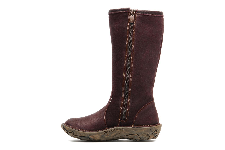 Boots & wellies El Naturalista Nasca 34 Purple front view