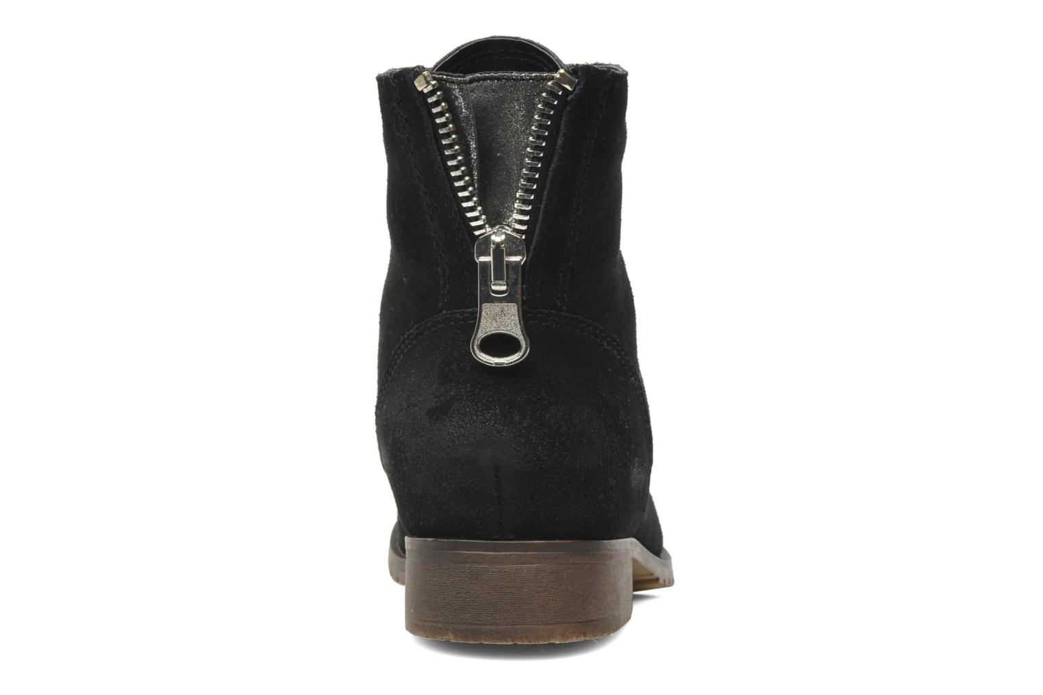 Ankle boots Steve Madden RAWLING Black view from the right