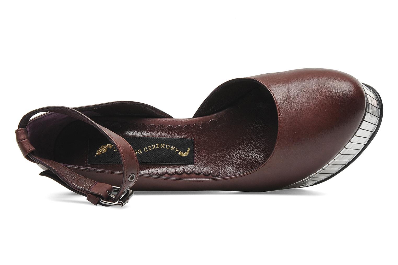 Bellagio Platform Wine Leather