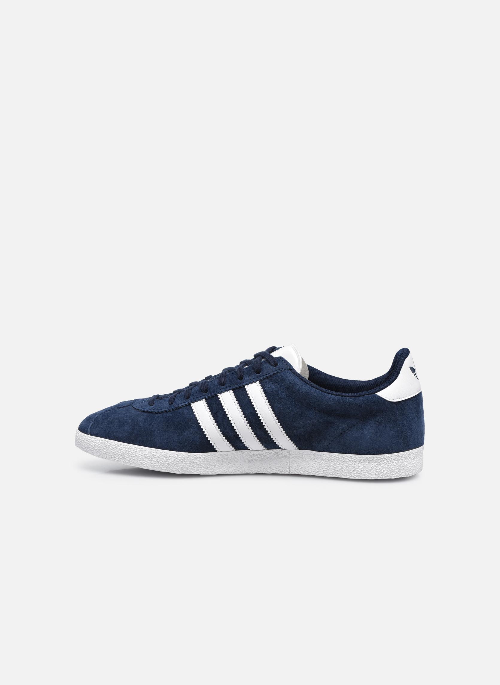 Sneakers Adidas Originals Gazelle Og Blauw voorkant