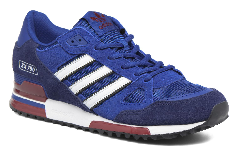 Sneakers Adidas Originals Zx 750 Blauw detail