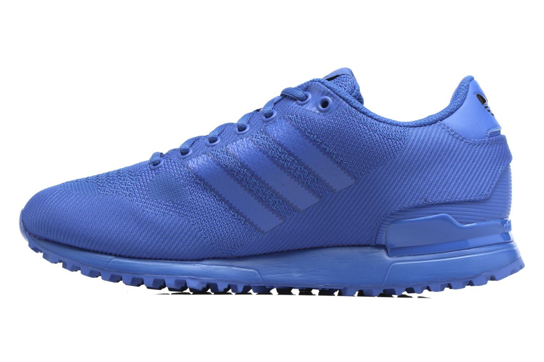 Sneaker Adidas Originals Zx 750 blau ansicht von vorne