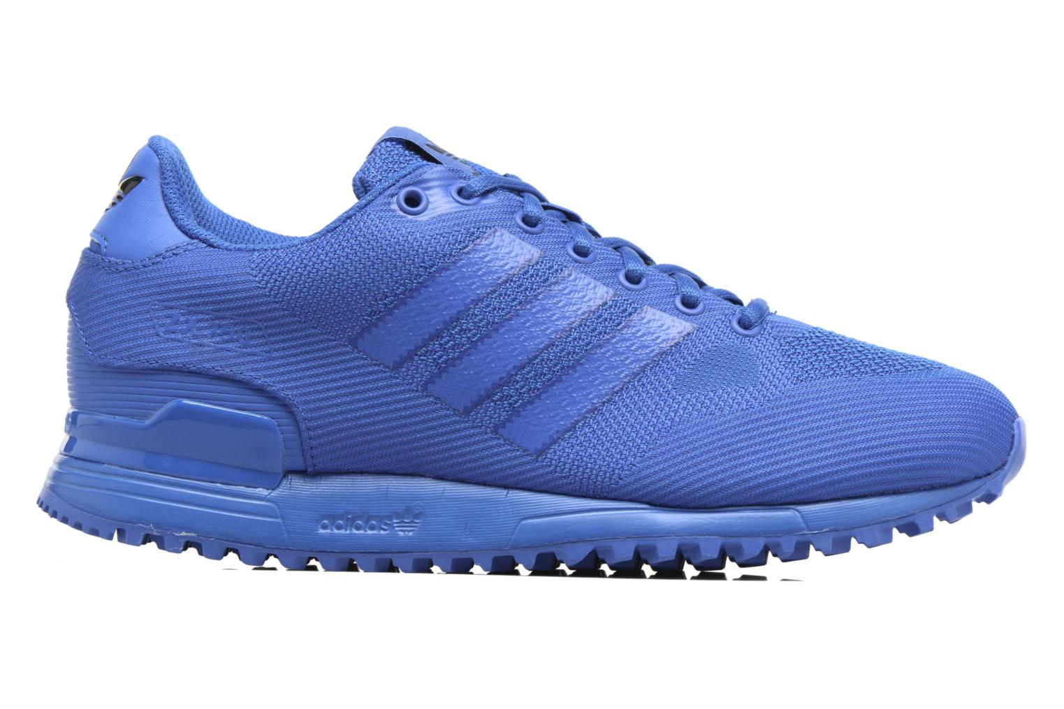 Trainers Adidas Originals Zx 750 Blue back view