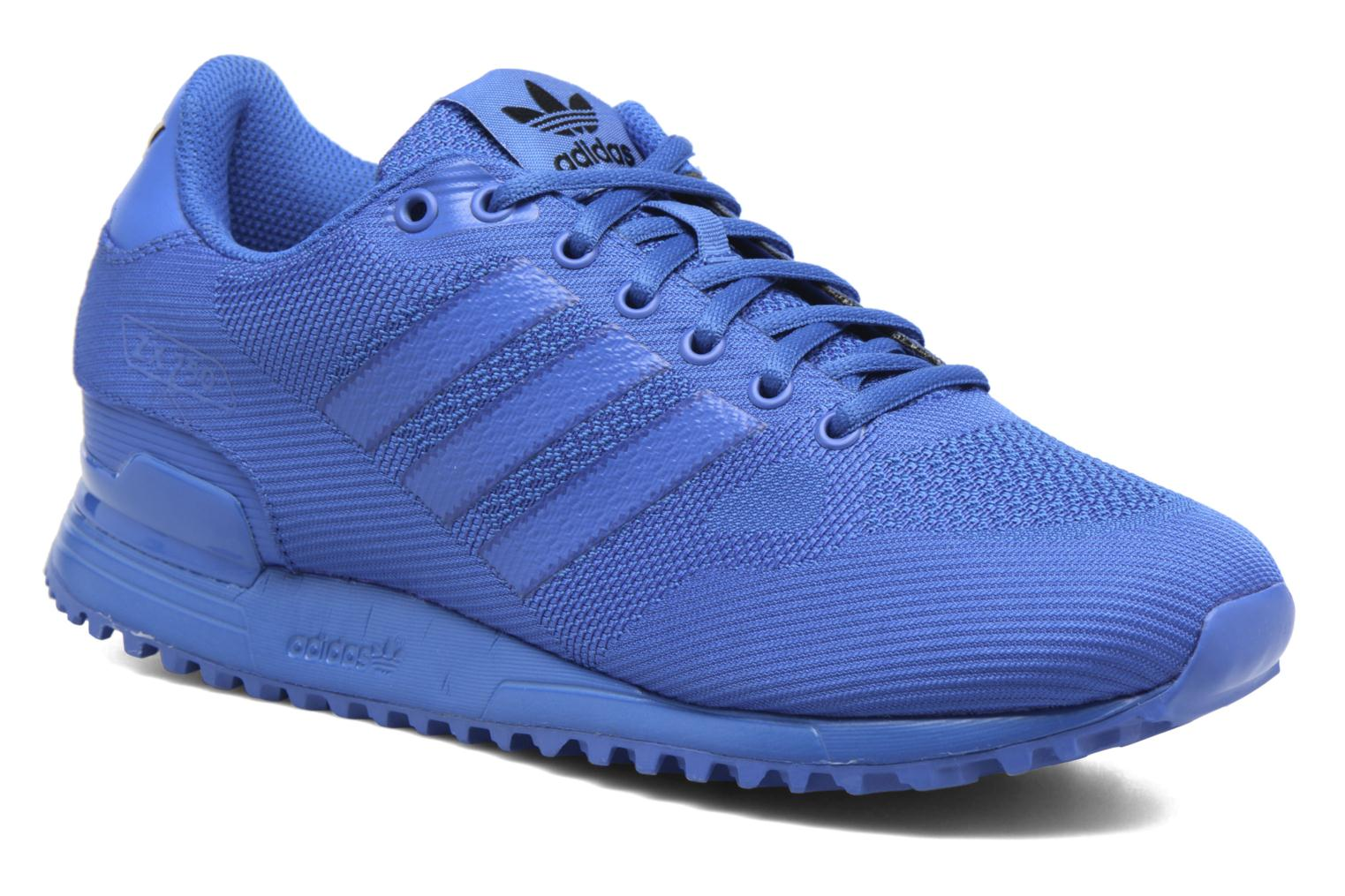 Trainers Adidas Originals Zx 750 Blue detailed view/ Pair view