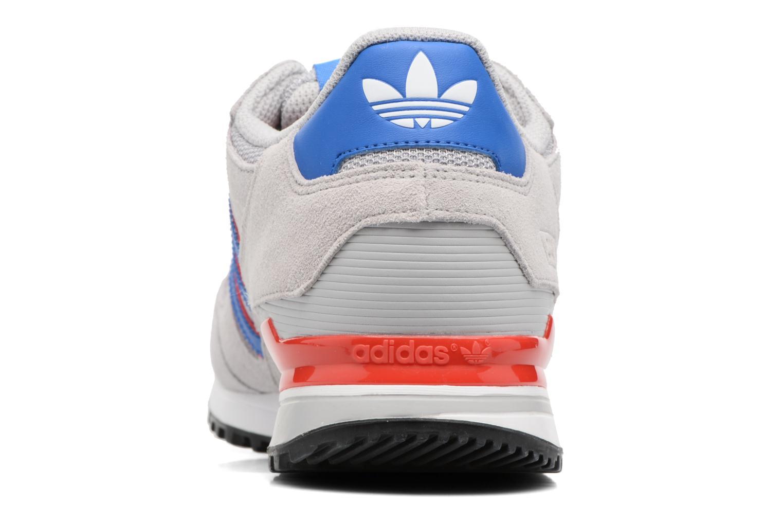 Baskets Adidas Originals Zx 750 Gris vue droite