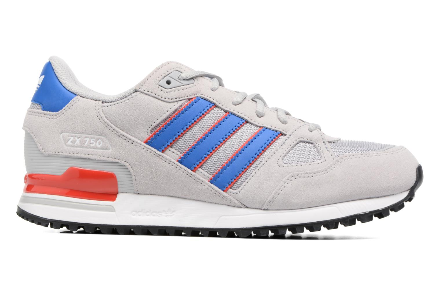 Trainers Adidas Originals Zx 750 Grey back view