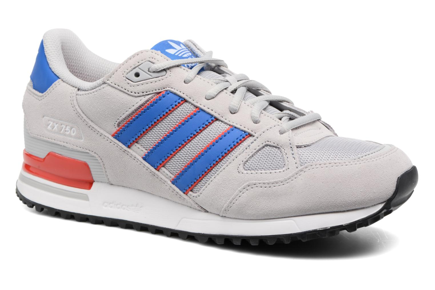 Trainers Adidas Originals Zx 750 Grey detailed view/ Pair view