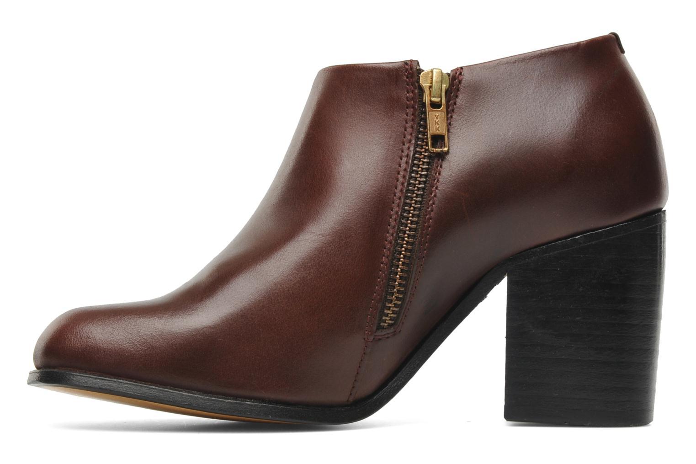 Bottines et boots H By Hudson BANGLE Bordeaux vue face