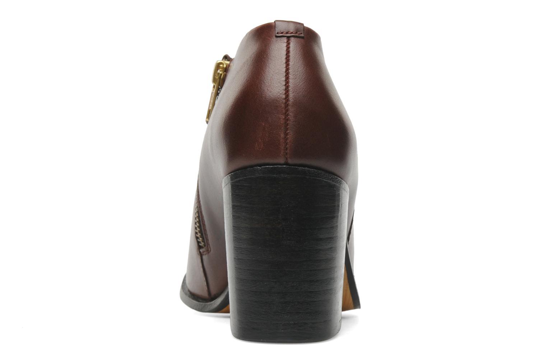 Bottines et boots H By Hudson BANGLE Bordeaux vue droite