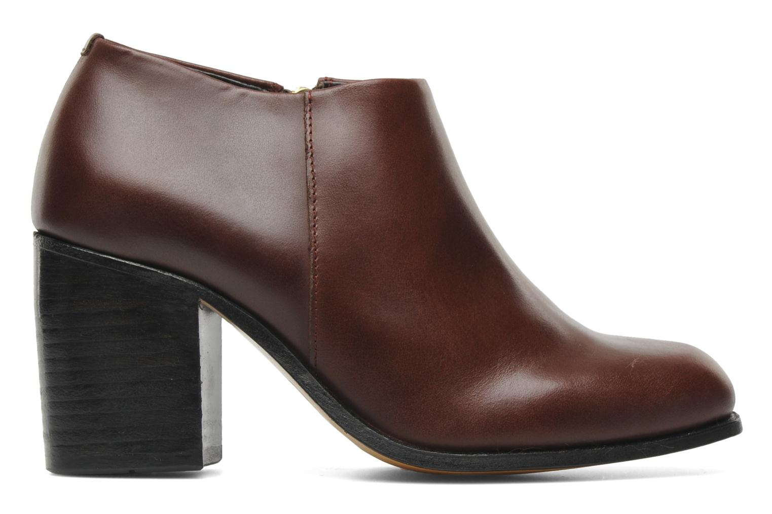 Bottines et boots H By Hudson BANGLE Bordeaux vue derrière