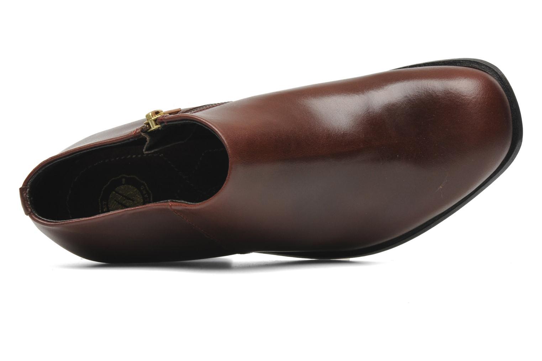 Bottines et boots H By Hudson BANGLE Bordeaux vue gauche