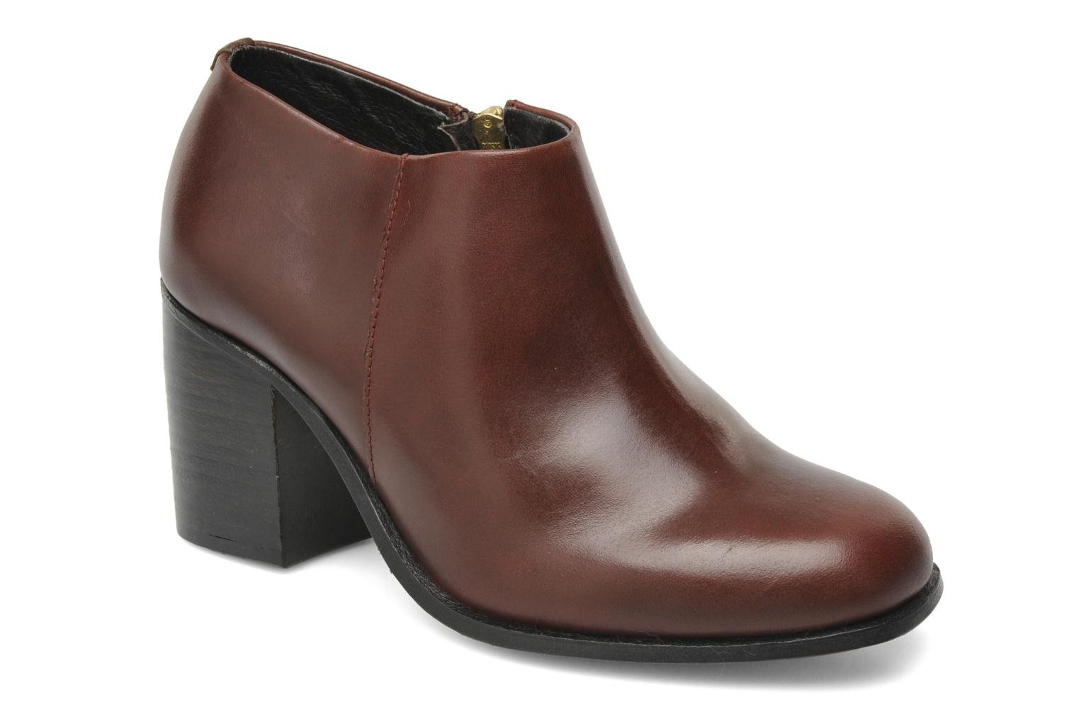 Bottines et boots H By Hudson BANGLE Bordeaux vue détail/paire