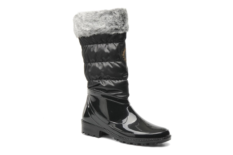 Boots en enkellaarsjes Le Routard Ragala Zwart detail