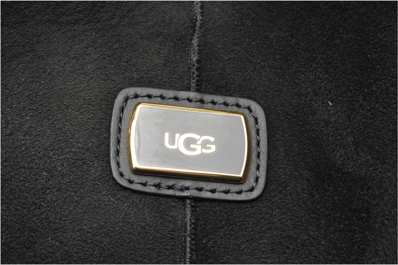 Sacs à main UGG Gracie Shearling Tote Noir vue gauche