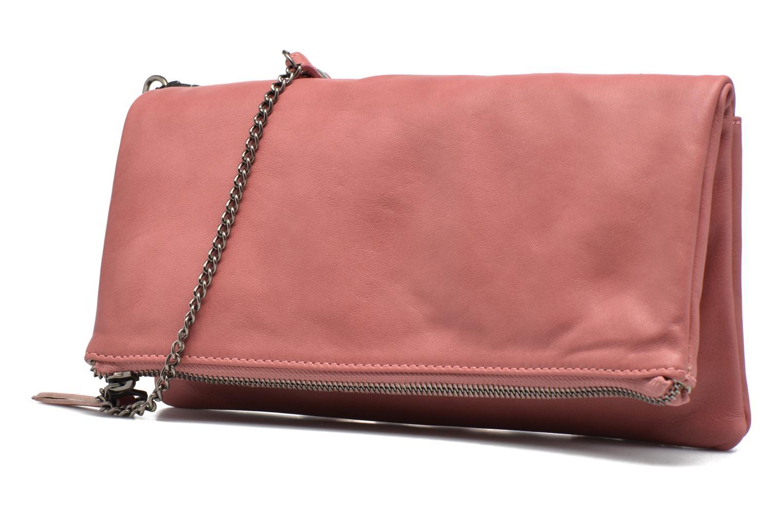 Handtaschen Sabrina Léonie rosa schuhe getragen