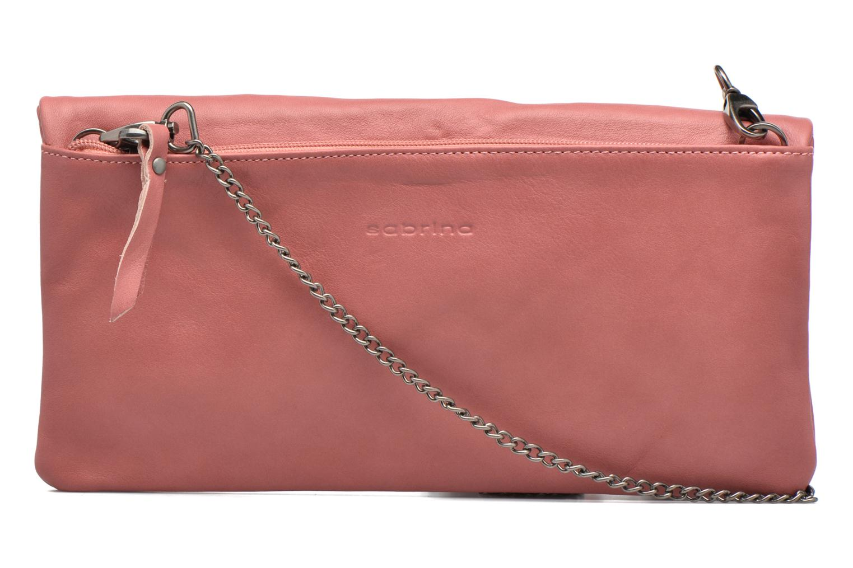 Handbags Sabrina Léonie Pink front view