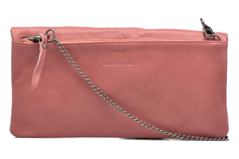 Handtaschen Sabrina Léonie rosa ansicht von vorne