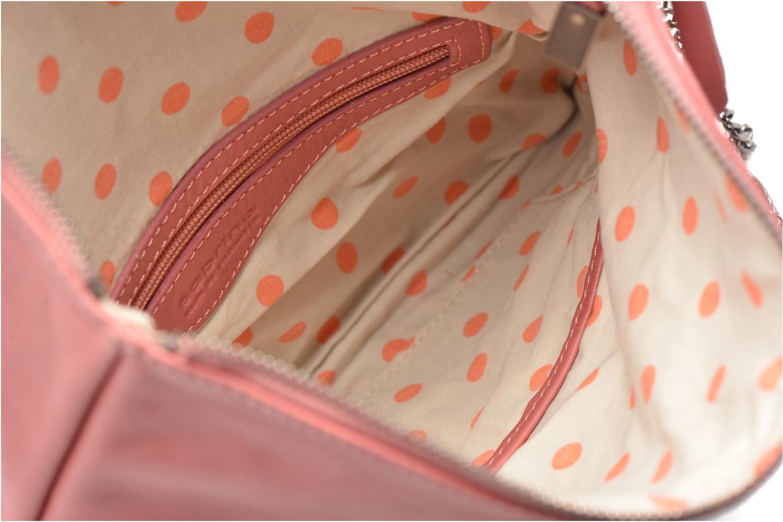 Handväskor Sabrina Léonie Rosa bild från baksidan
