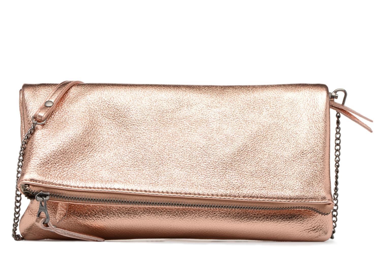 Håndtasker Sabrina Léonie Guld og bronze detaljeret billede af skoene