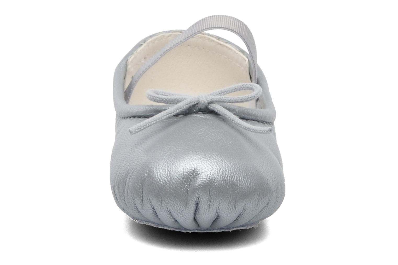 Ballerines Bloch Baby Arabella Argent vue portées chaussures
