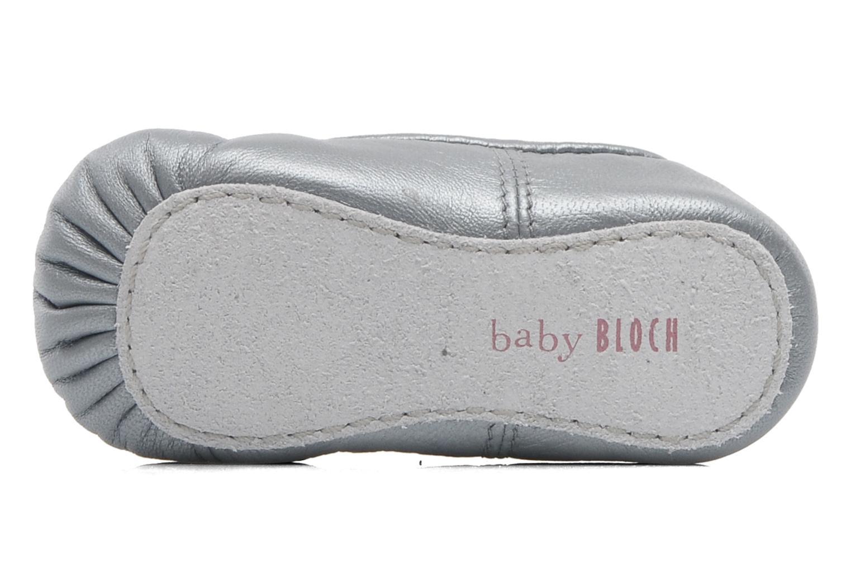 Ballerines Bloch Baby Arabella Argent vue haut